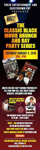 Classic Black Movie Brunch and Day Party Series