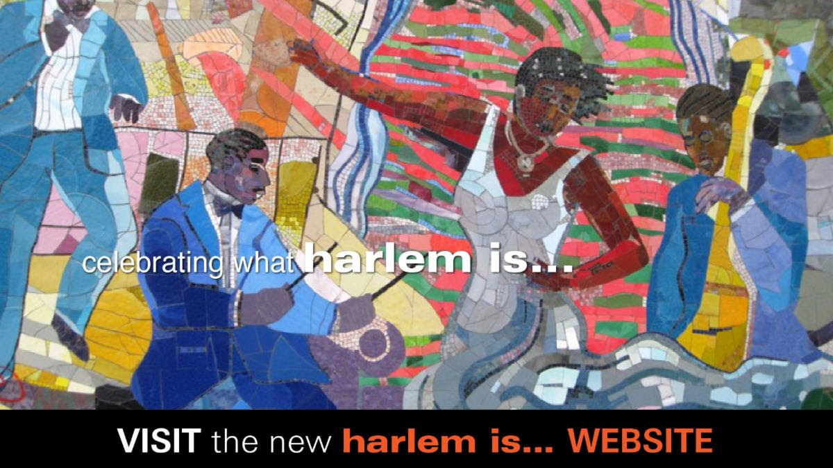 Celebrate the Launch of harlem is...